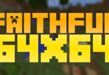 Faithful 64x64 Resource Pack 1.12.2, 1.12.1, 1.12, 1.11, 1.10.4, 1.8.8/1.8.9