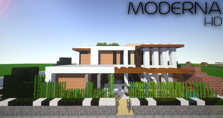 Moderna HD Resource Pack: Building