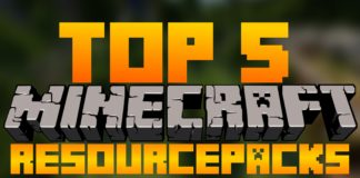 Top 5 Minecraft Resource Packs