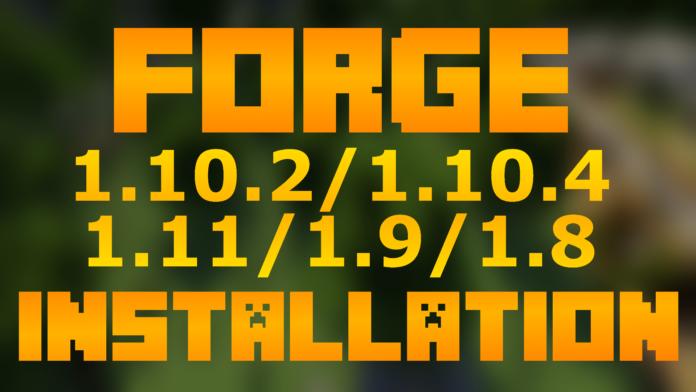 Minecraft Forge API 1.12/1.11.2 for Minecraft 1.12/1.11/1.10