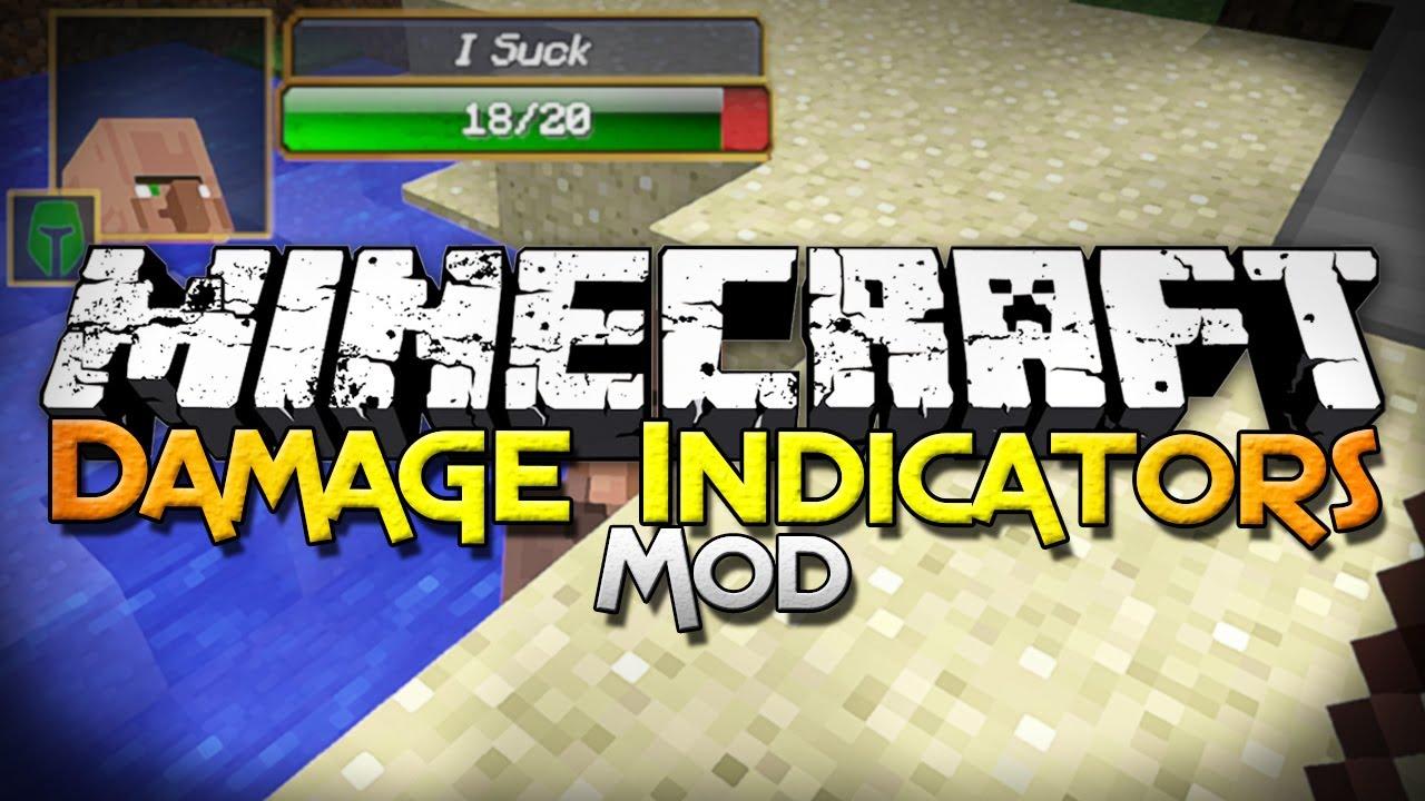 скачать мод damage indicators для minecraft 1.7.2 #6